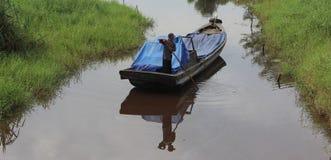 诺亚河沿牺牲 免版税库存照片