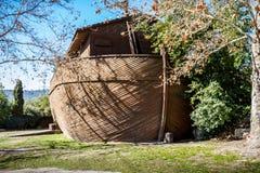 诺亚` s平底船在耶路撒冷圣经的动物园,以色列里 免版税库存图片