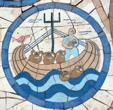 诺亚` s平底船 免版税库存图片