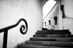 诺伊埃尔堡楼梯 库存照片