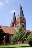 诺伊鲁平修道院教会在德国 免版税库存照片