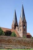 诺伊鲁平修道院教会在德国 免版税图库摄影