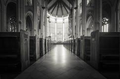 诺克斯教会在达尼丁 库存图片