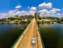 诺克斯维尔桥梁 库存照片