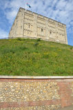诺威治城堡 免版税库存照片
