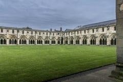 诺威治大教堂修道院 免版税图库摄影
