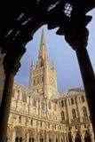 诺威治大教堂-诺福克-英国 免版税库存图片
