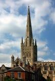 诺威治大教堂地面  库存照片