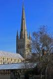 诺威治大教堂 库存图片