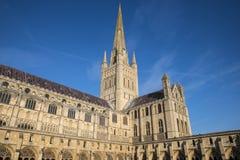 诺威治大教堂 免版税图库摄影