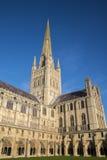 诺威治大教堂 图库摄影