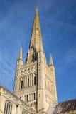 诺威治大教堂 库存照片