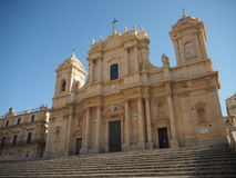 诺托大教堂 免版税库存照片