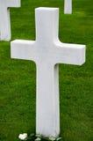 诺曼底无名战士坟墓标志 库存照片