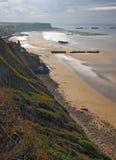诺曼底的海岸 库存照片