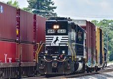 诺福克南部的机车# 1648本机 图库摄影