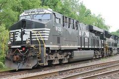 诺福克南部的机车8122 库存图片