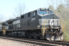 诺福克南部的铁路机车9650 免版税库存图片