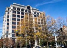 诺福克和南部的大厦,罗阿诺克,弗吉尼亚,美国 免版税库存照片