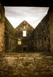 诺福克岛监狱废墟 免版税库存图片