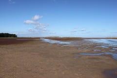 诺福克海岸线 库存图片