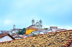 诺萨Senhora做卡尔穆,欧鲁普雷图,米纳斯吉拉斯州(巴西) 库存照片