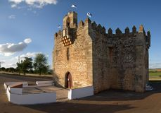 诺萨Senhora da蟒蛇新星被加强的教会  免版税库存图片