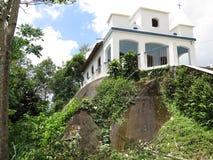 诺萨Senhora da Penha - Paraty Paraty-库尼亚教会  库存图片