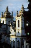 诺萨Senhora dos Pretos,萨尔瓦多,巴西教会  免版税库存照片