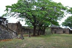 诺萨Senhora dos Remédios堡垒  库存照片