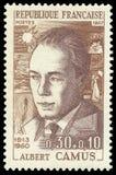 诺贝尔奖得奖人,阿尔贝・加缪 库存照片