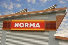 诺马商标 库存照片