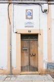 诺贝尔奖得主的家在文学卡米洛何塞Cela的 库存照片