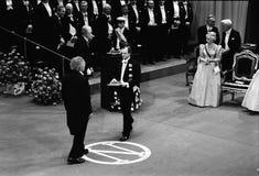 诺贝尔奖仪式在斯德哥尔摩瑞典 图库摄影
