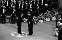 诺贝尔奖仪式在斯德哥尔摩瑞典 免版税库存照片