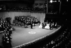 诺贝尔奖仪式在斯德哥尔摩瑞典 库存图片