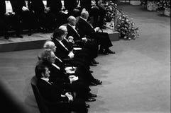 诺贝尔奖仪式在斯德哥尔摩瑞典 库存照片