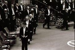 诺贝尔奖仪式在斯德哥尔摩瑞典 免版税库存图片