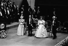 诺贝尔奖仪式在斯德哥尔摩瑞典 免版税图库摄影