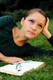 读取学员 免版税库存照片