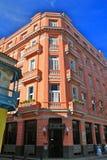 读经台古巴哈瓦那旅馆mundos 库存图片