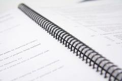 课本 免版税库存图片