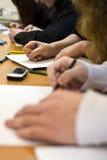 课程 免版税库存照片