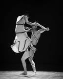 谁控制差事入迷宫现代舞蹈舞蹈动作设计者玛莎・葛兰姆 库存照片