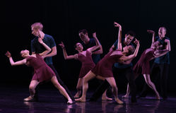 谁是依赖古典芭蕾` Austen汇集` 免版税库存图片
