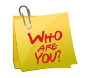 谁是您柱子 免版税库存图片