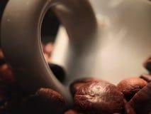 谁爱咖啡 图库摄影