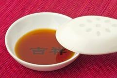 调味汁大豆 免版税库存图片