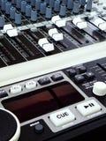 调平器搅拌机音乐技术 免版税库存图片