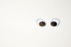 调查与大眼睛的世界 库存照片